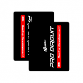 PROCIRCUIT BLACK/RED +14,90 €