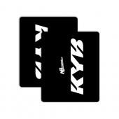 KYB WHITE/BLACK +14,90€